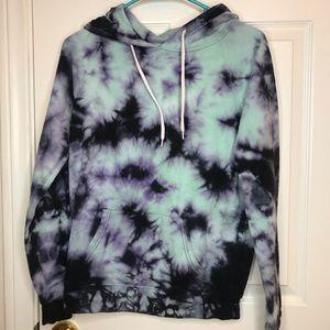 Sweaters - Tie-dye Hoodie
